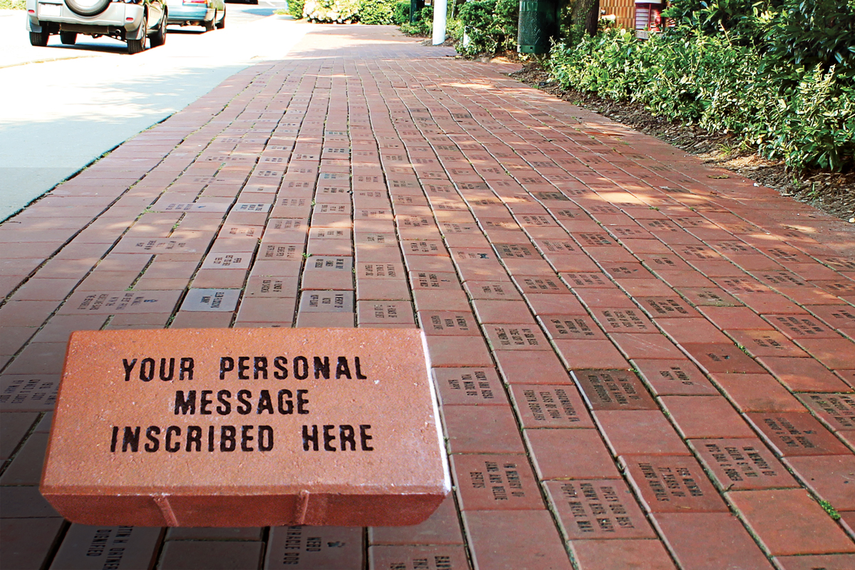 Tribute Gifts - Memorial Brick