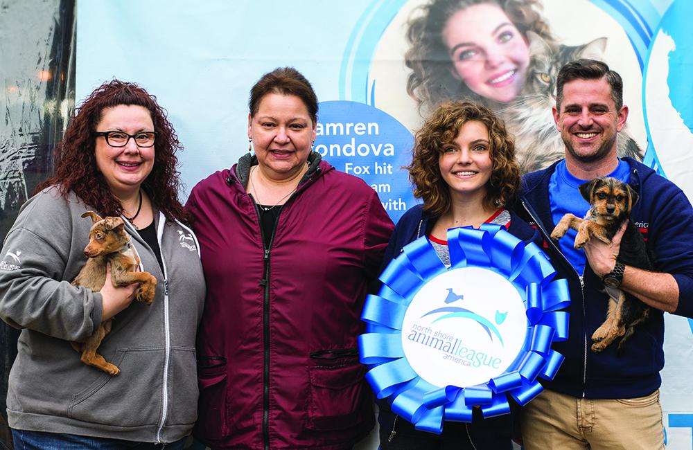 Camren Bicondova opens Pet Adoptathon 2017.